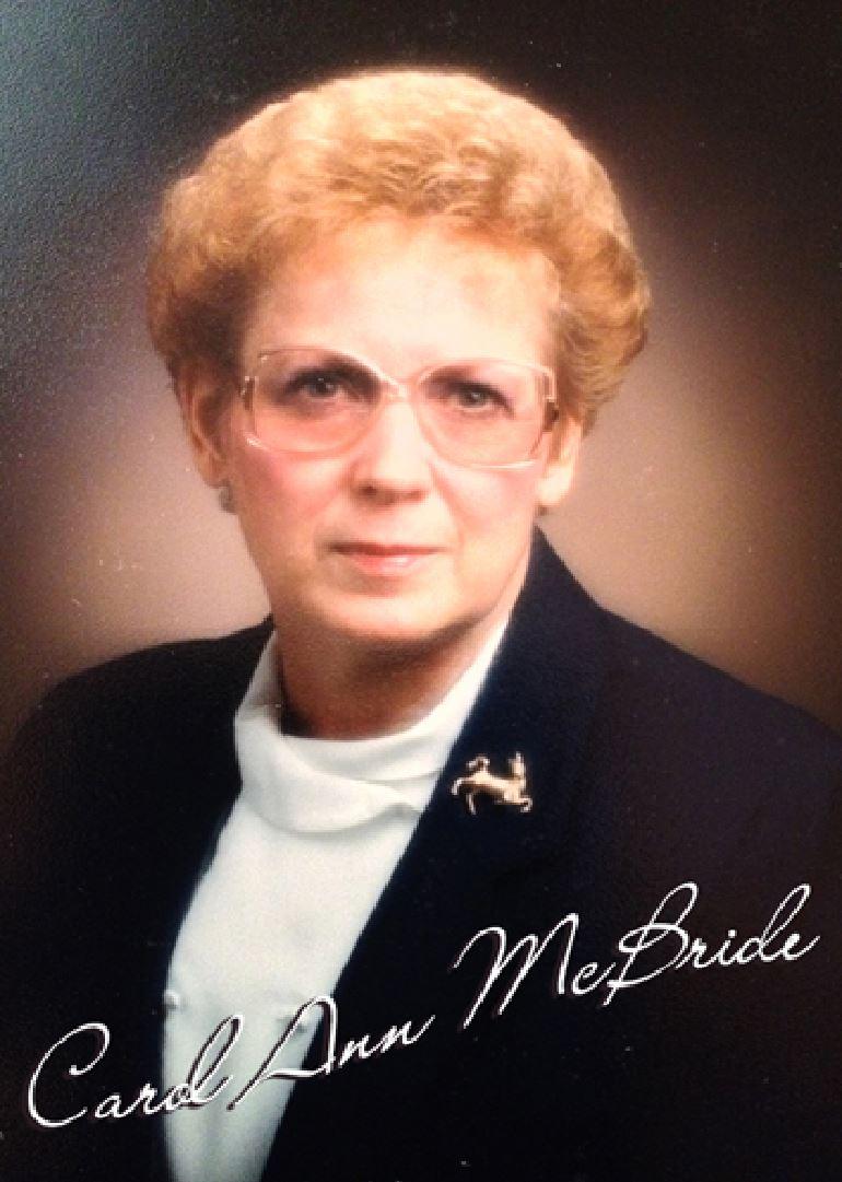 McBride, Carol Ann Allen